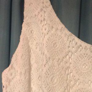 Lilly Pulitzer Dresses - NWT Lilly Pulitzer Sevilla Dress Sz L White Lace
